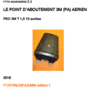 LE POINT D'ABOUTEMENT 3M (PA) AERIEN
